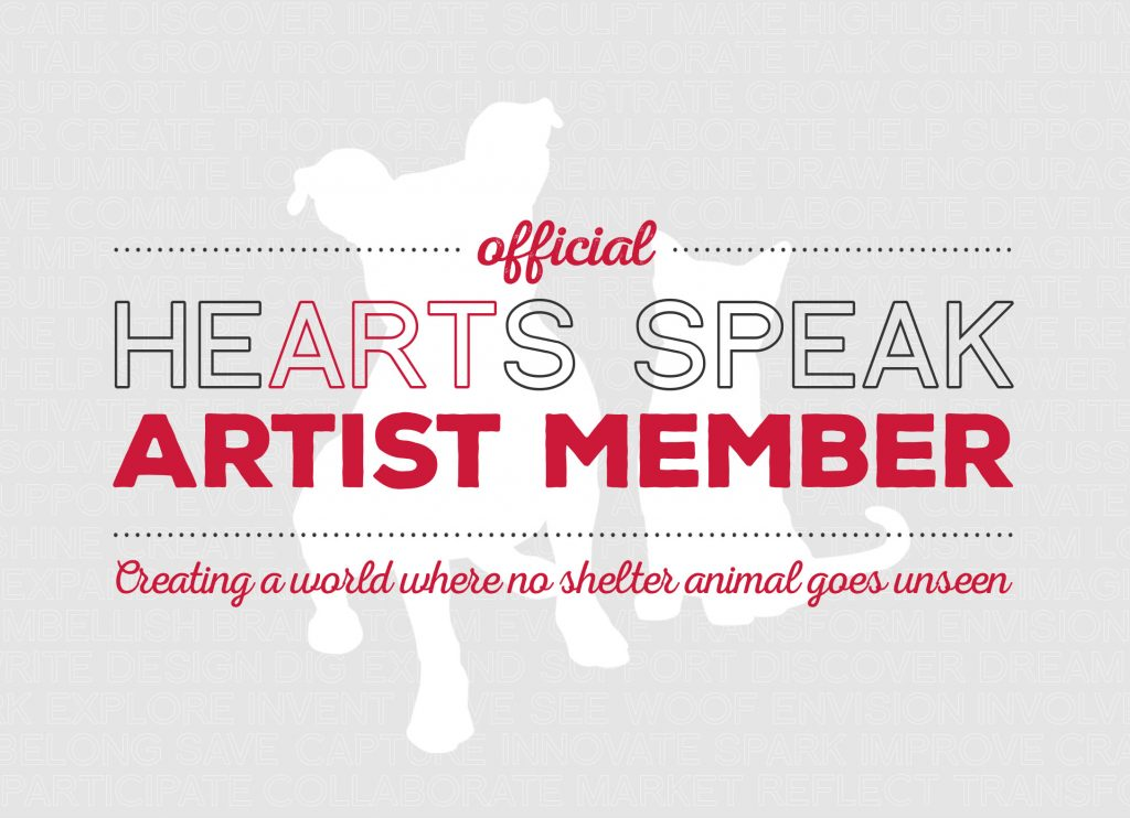 Proud HeARTs Speak member since 2014.