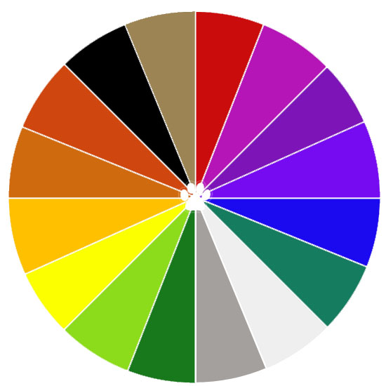 Shutter Hound Pet Photography Color Wheel