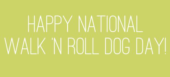 NationalWalkNRollDogDay
